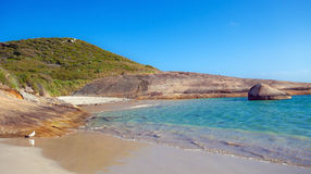 Greens Pool. In William Bay National Park, Western Australia royalty free stock photography