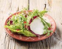 Greens van de salade Stock Foto