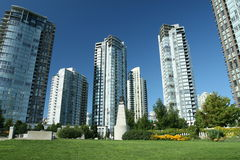 Greenspace urbano Foto de Stock Royalty Free