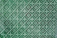 Greent-Hintergrund-Glasscheibebeschaffenheit Lizenzfreie Stockfotos