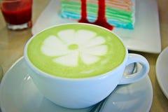 Greentea coffe Stock Foto's