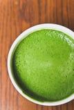 Greentea matcha latte Stock Photos