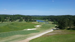 Greenville Alabama Robert Jones Golf Trail trent Fotografie Stock