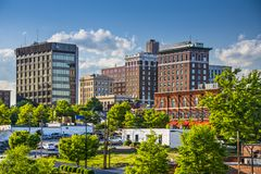 Greenville, Carolina del Sud Immagine Stock