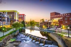 Greenville, Carolina del Sud Fotografia Stock Libera da Diritti