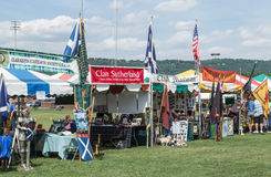 Greenville SC Scottish Games Royalty Free Stock Photo