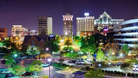 Greenville South Carolina Royaltyfri Bild