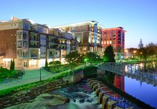 Greenville South Carolina Royalty Free Stock Photo