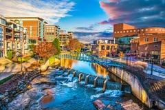 Greenville, South Carolina Royalty Free Stock Photos