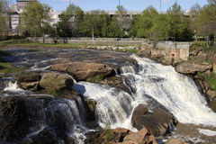 Greenville, South Carolina Waterfalls Stock Photo