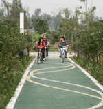 Greenway in chengdu,china Royalty Free Stock Images