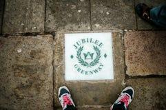 Greenway del jubileo, Londres Imagenes de archivo