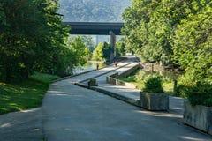 Greenway della valle di Roanoke Fotografia Stock Libera da Diritti