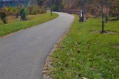 Greenway di Roanoke Immagini Stock