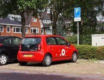 Greenwheels汽车分享,荷兰 免版税库存图片