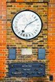 Greenwich-Borduhr Lizenzfreie Stockbilder