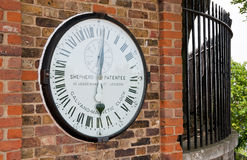 Greenwich clock Stock Photos