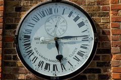 Greenwich clock Stock Images