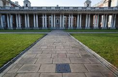 Greenwich Columns Royalty Free Stock Photo