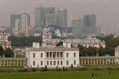 Greenwich district London Royalty Free Stock Photo