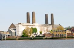 Greenwich Factory Royalty Free Stock Photo