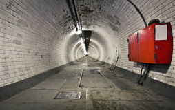 Greenwich Foot Tunnel Stock Image