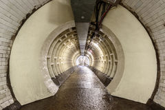 Free Greenwich Foot Tunnel Beneath The River Thames Royalty Free Stock Photos - 73644488