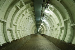Greenwich foot tunnel Royalty Free Stock Photography