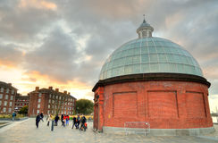 The Greenwich Foot Tunnel, East London Stock Photos