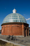 Greenwich Foot Tunnel entrance Royalty Free Stock Photo