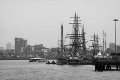 Greenwich-Großsegler-Festival 2014 Stockbilder