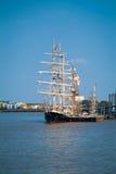 Greenwich högväxt skeppfestival 2014 Arkivfoto