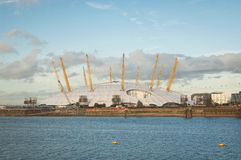 Greenwich halvöpanorama Arkivfoton