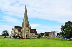 Greenwich-Kirche Lizenzfreies Stockbild