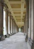 Greenwich kolumnada długo obraz royalty free
