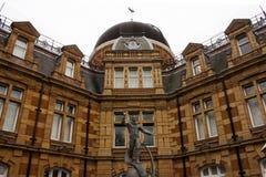 Greenwich kunglig personobservatorium Fotografering för Bildbyråer