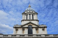 Greenwich Naval College dome Stock Images