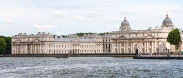 Greenwich no rio Tamisa, Londres, Inglaterra Fotos de Stock Royalty Free