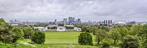 Greenwich panorama Stock Photo