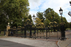 Greenwich Park Gates. Main entrance to Greenwich Park Stock Photos