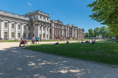 Greenwich park, Maritime museum 2017 royalty free stock photo