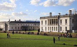 Greenwich park, and Queen s palace Royalty Free Stock Photos