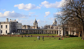 Greenwich park, and Queen s palace Stock Photo