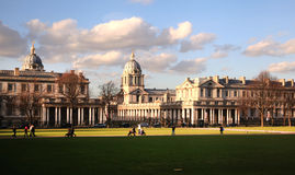 Greenwich park, Royal Navy chapel Royalty Free Stock Photography