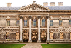 Greenwich park, Royal Navy college, Queen s palace Stock Photography