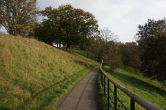 Greenwich-Parkweg Stockfotografie