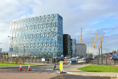 Greenwich peninsula in South East London, England Royalty Free Stock Photo