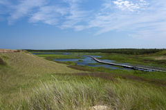 Greenwich Provincial Park. Greenwich Dunes on Prince Ewdard Island, Canada Royalty Free Stock Image