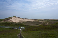 Greenwich Provincial Park. Greenwich Dunes on Prince Ewdard Island, Canada Royalty Free Stock Images
