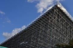 Greenwich-Reiterolympics-Errichten Stockbilder